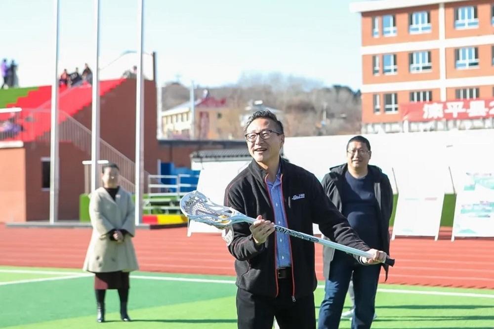 蔡崇信公益基金會創始人、阿里巴巴集團董事會執行副主席蔡崇信素來關注青少年體育發展,相信「體育是教育的一部分,教育是體育的一部分」的體教融合理念。