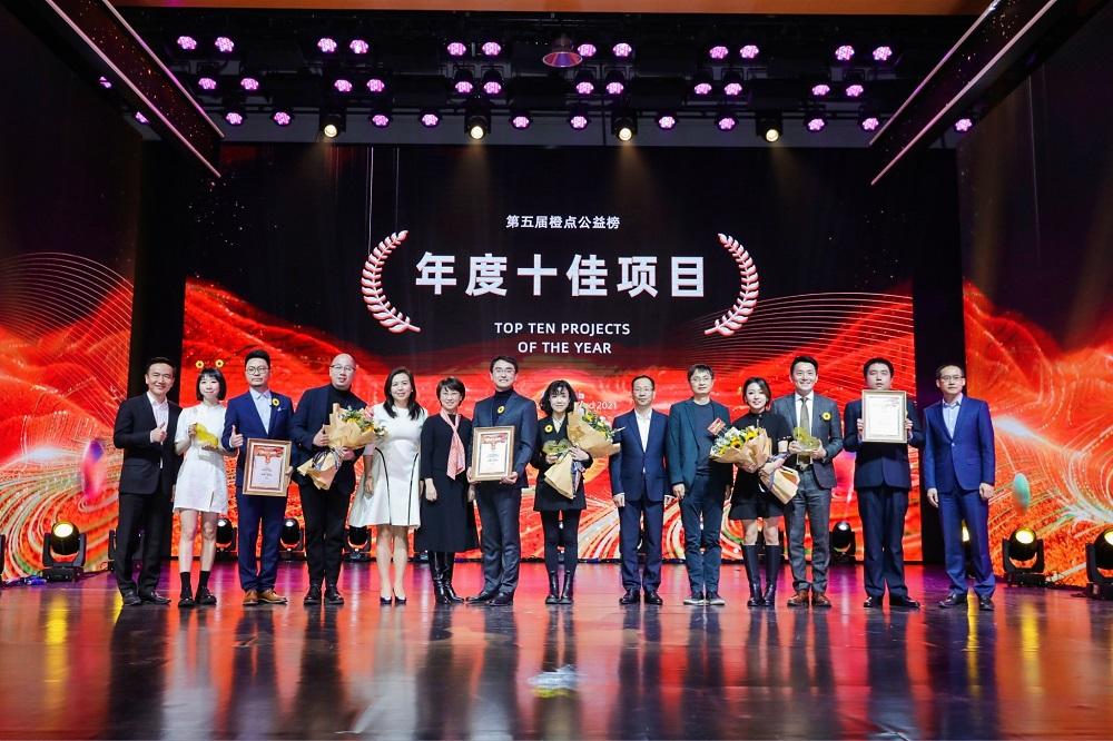 阿里巴巴集團第5屆「橙點公益榜」於3月3日揭曉,獲獎的公益項目涵蓋脫貧、傷健輔助、長者幫助等不同範疇。