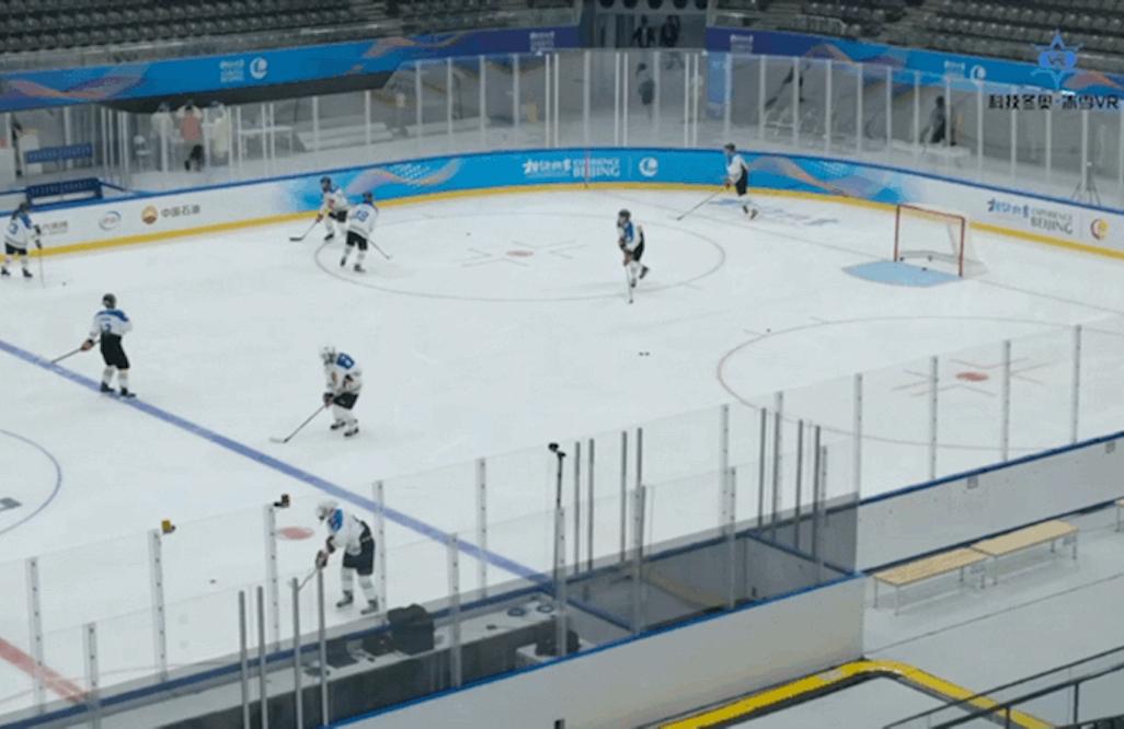 優酷「自由視角」技術亮相冬奧冰上測試活動