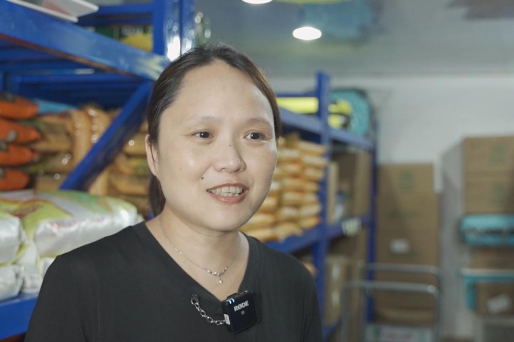 上海綠洲公益發展中心理事長、「綠洲盛食社」淘寶店負責人李冰