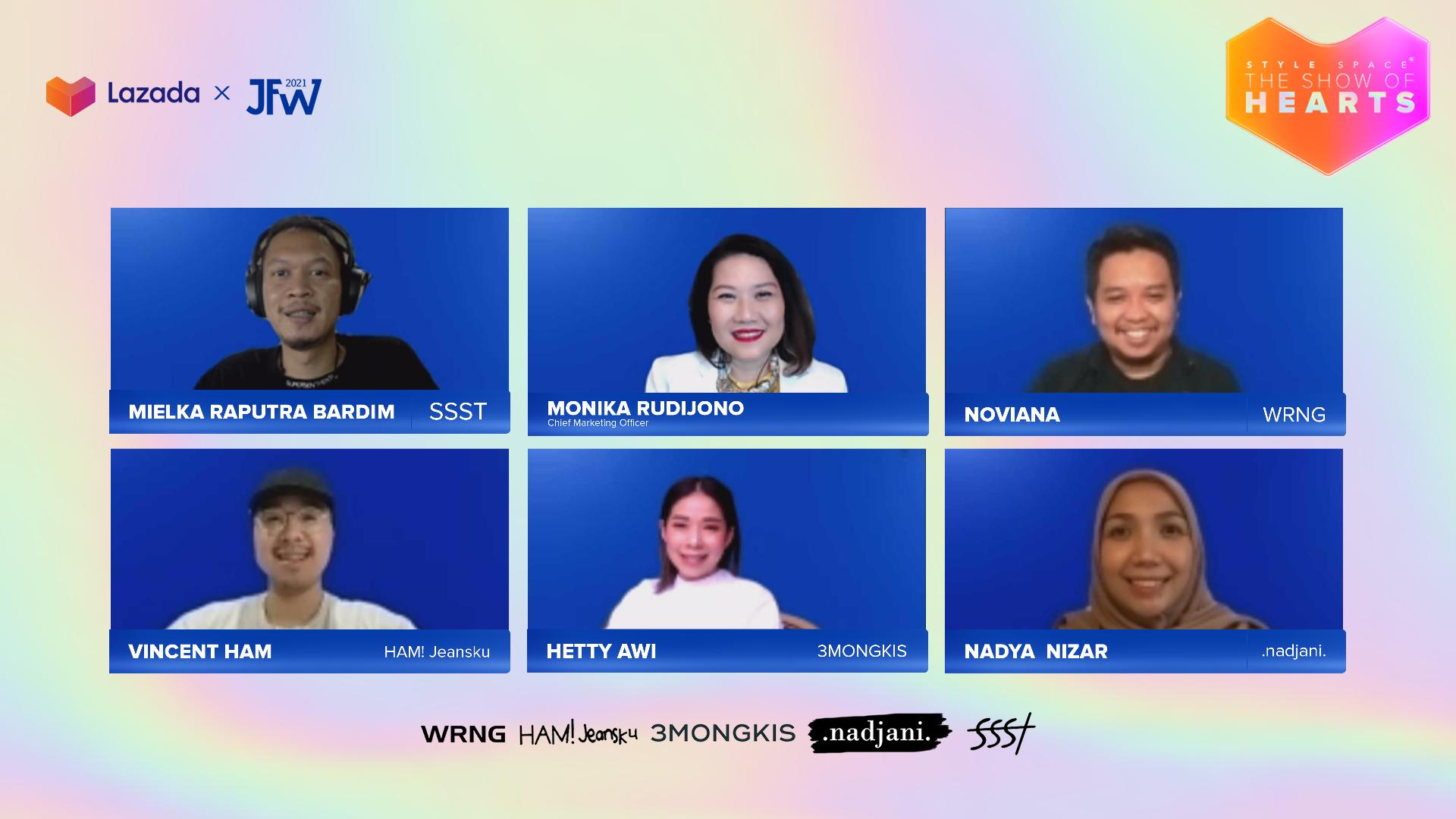 Jakarta-Fashion-Week- Style-Space-The-Show-of-Hearts-berkolaborasi-dengan-5-desainer-lokal