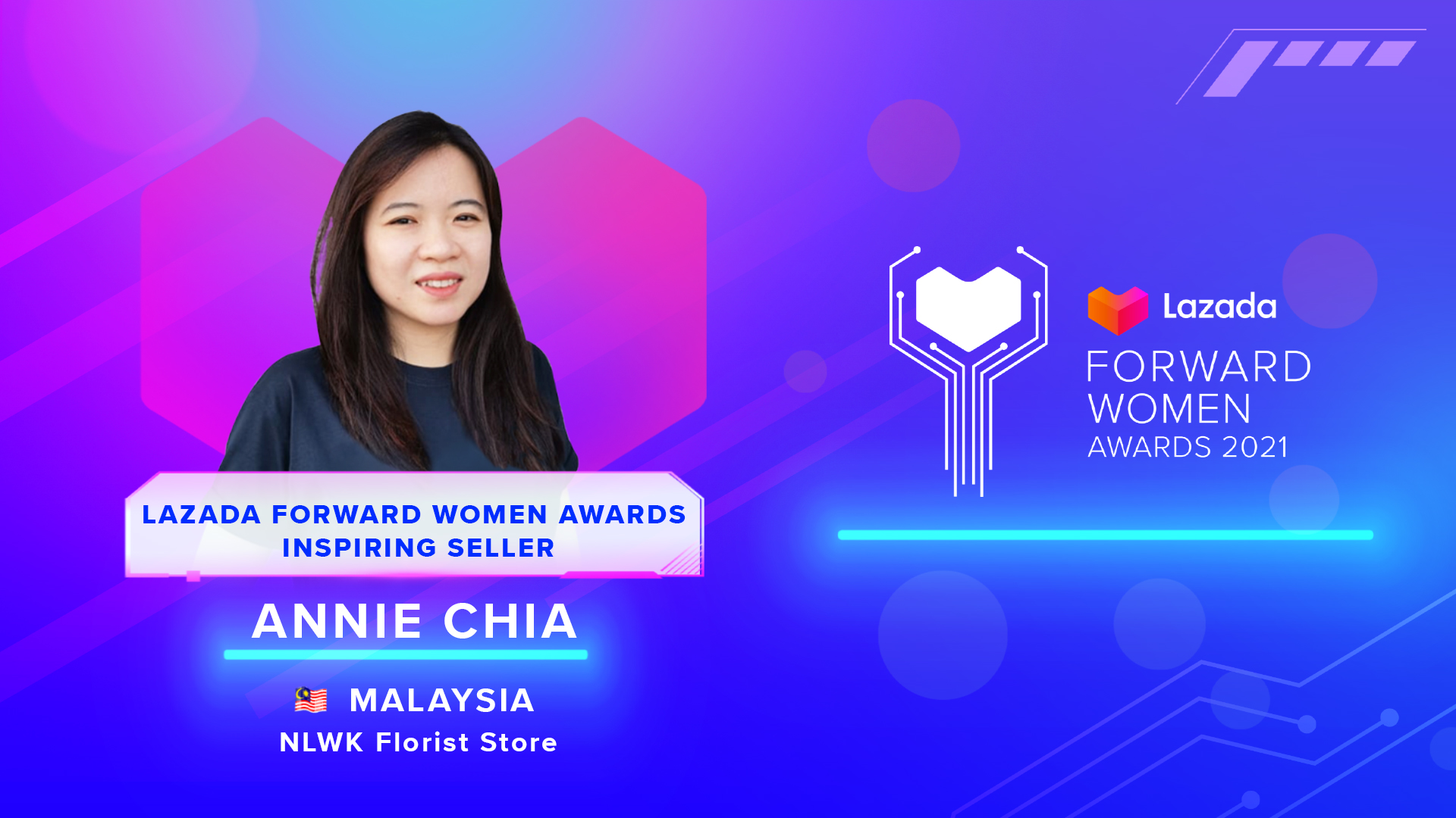 Anne - Chia - Lazada Forward Women Awards