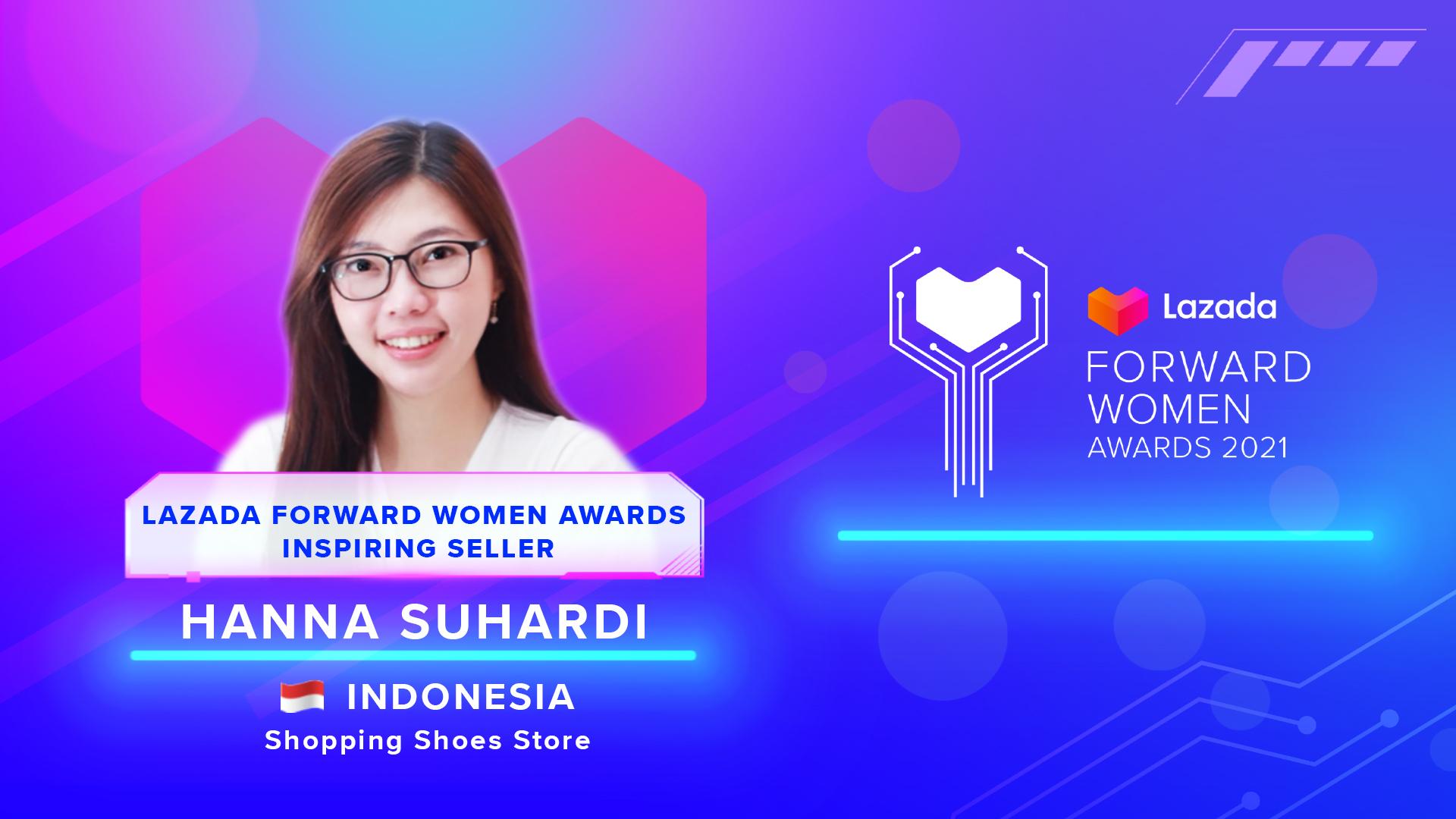 Hanna-Suhardi-Lazada Forward Women Awards