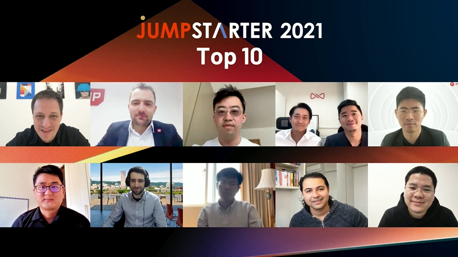 Alibaba Entrepreneurs Fund JUMPSTARTER 2021 top 10