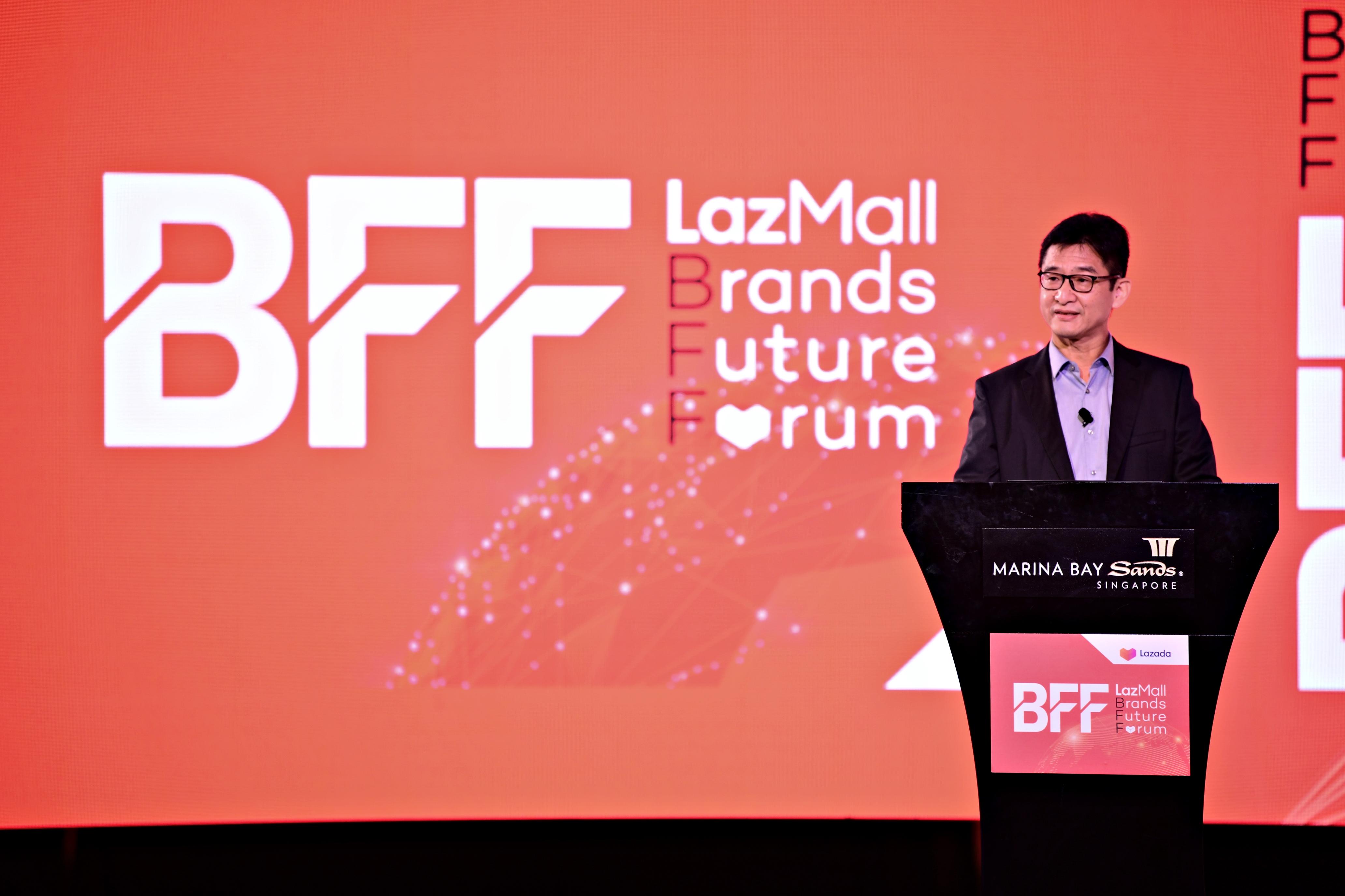 CEO dari Lazada Group, Li Chun - LazMall