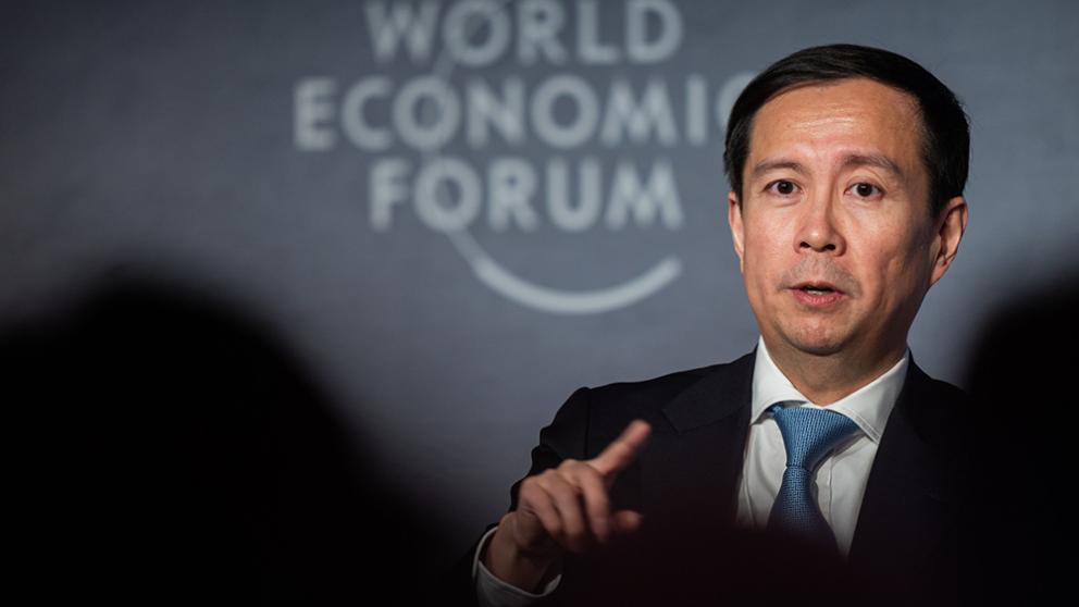 ダニエル・チャン、ダボス会議でプラットフォームビジネスの本質を語る